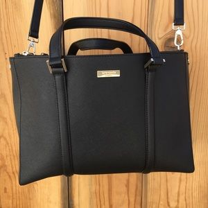 Kate Spade Black Newbury Lane Loren Large Bag